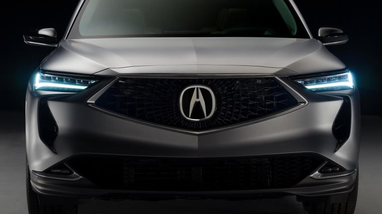Acura previews the fourth-generation MDX SUV