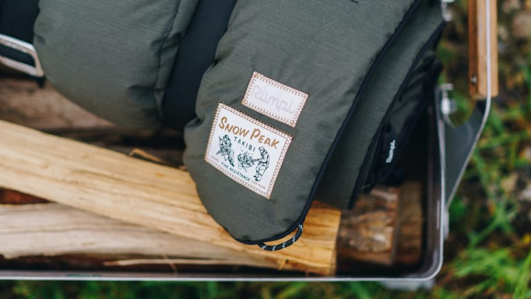 Snow Peak and Rumpl release the perfect outdoor blanket