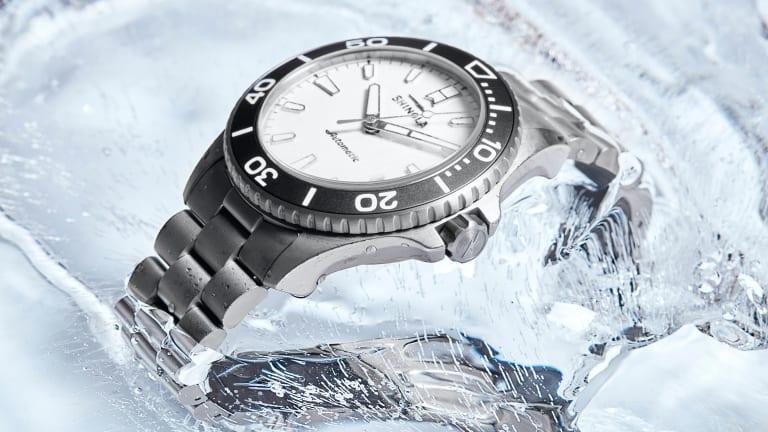 Shinola updates its dive watch with lightweight titanium
