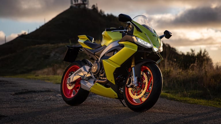 Aprilia's RS660 brings its high-performance motorcycles to riders of all levels