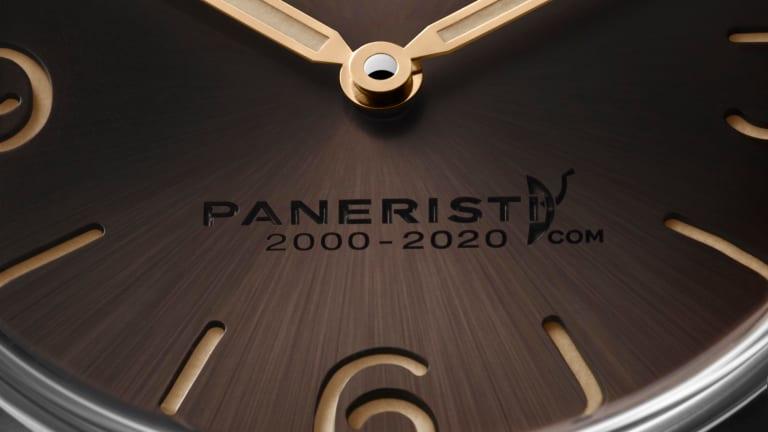 Panerai celebrates the 20th anniversary of the Paneristi community with the Radiomir Venti