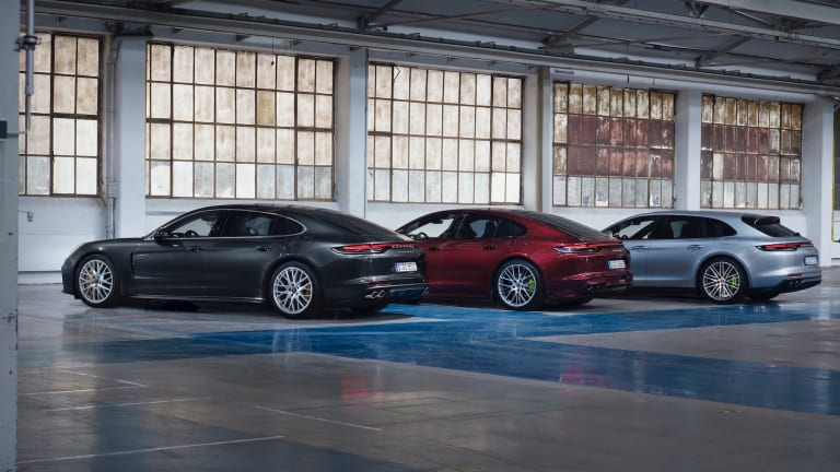 Porsche updates the 2021 Panamera lineup with one of its most powerful models yet