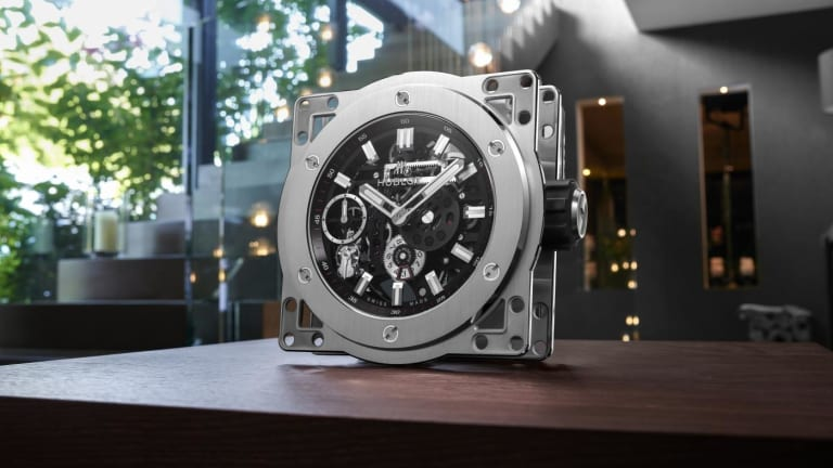 Hublot's latest statement piece is a bit too big for your wrist