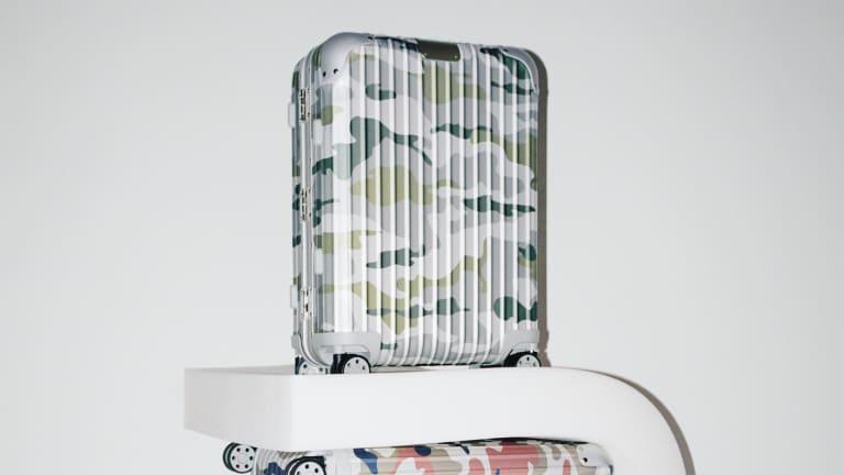Rimowa's aluminum luggage gets a new camo option
