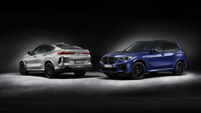 BMW reveals the First Edition versions of the X5 M Competition and X6 M Competition