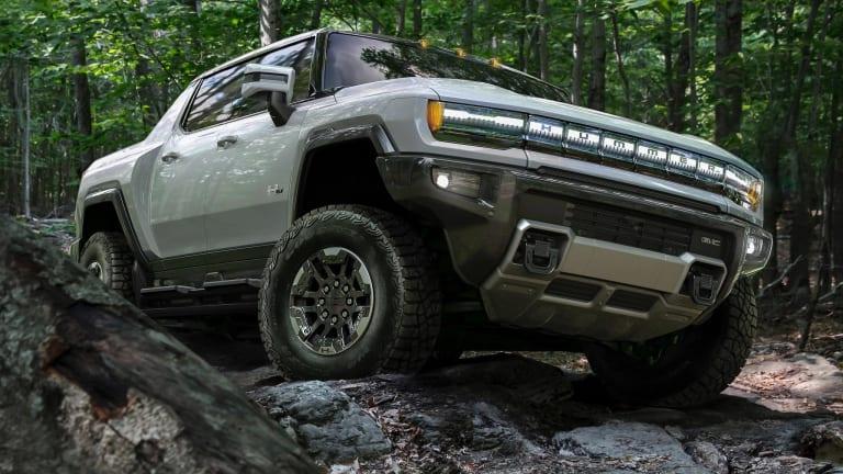 GMC reveals the Hummer EV Supertruck