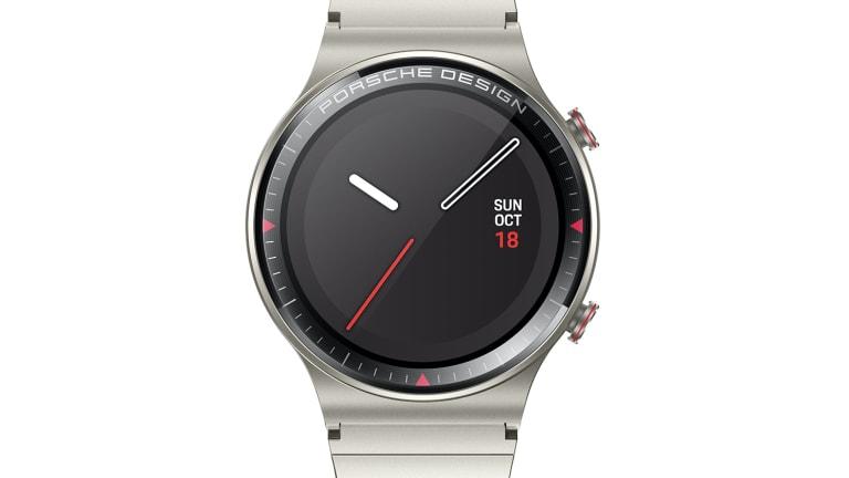 Porsche Design and Huawei reveal their all-titanium smartwatch