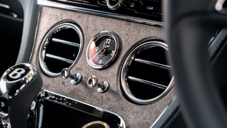 Bentley adds stone veneers to its library of interior options