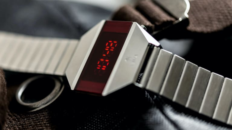 Yema recalls the quartz crisis of the 70s with a reissue of its LED watch