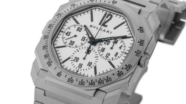 The Rake gives the Bulgari Octo Finissimo Chronograph a tool watch makeover