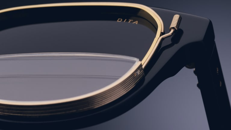 Dita's limited edition Varkatop integrates a pair of reading lenses in an innovative way