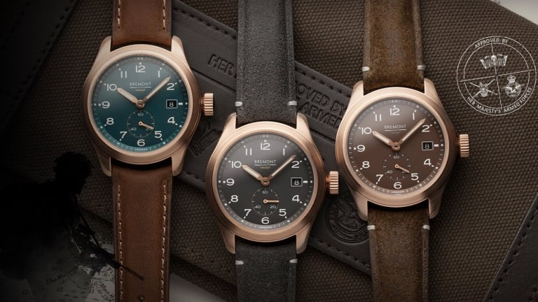Bremont adds the Broadsword Bronze to its Armed Forces Collection