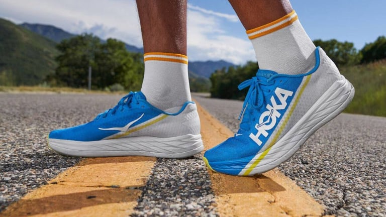 Hoka One One releases their lightweight Rocket X running shoe