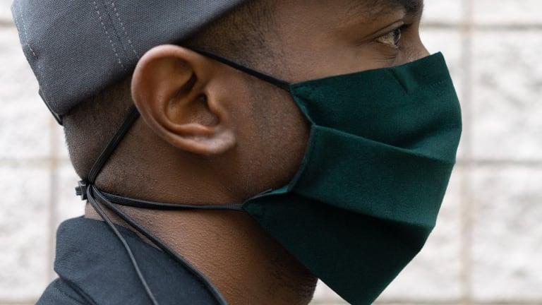 Outlier introduces a new Ultrasuede option to its Mask range