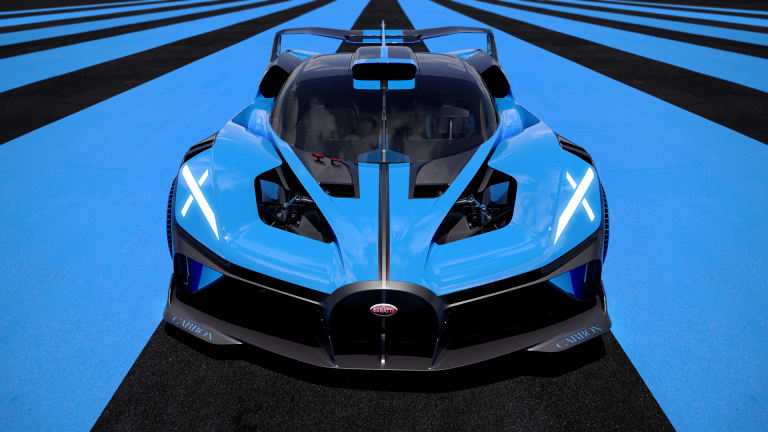Bugatti takes its hypercar technology to the track with the Bolide