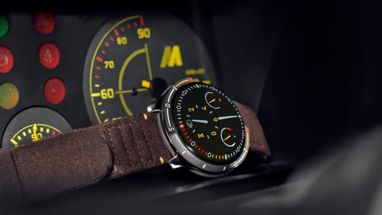 Ressence and Automobili Amos release their take on the driving watch