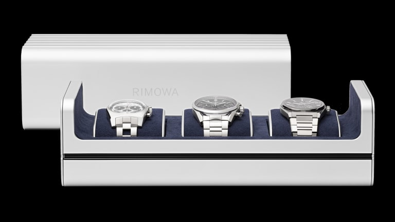 Rimowa launches its all-aluminum Watch Case