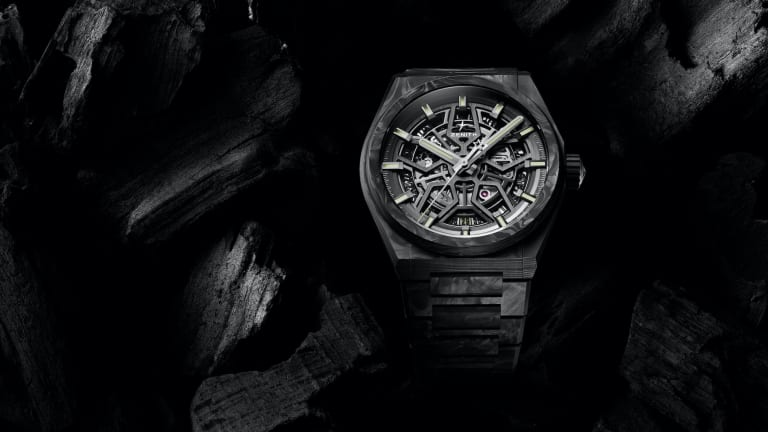 Zenith gives the Defy Classic an extensive carbon fiber upgrade