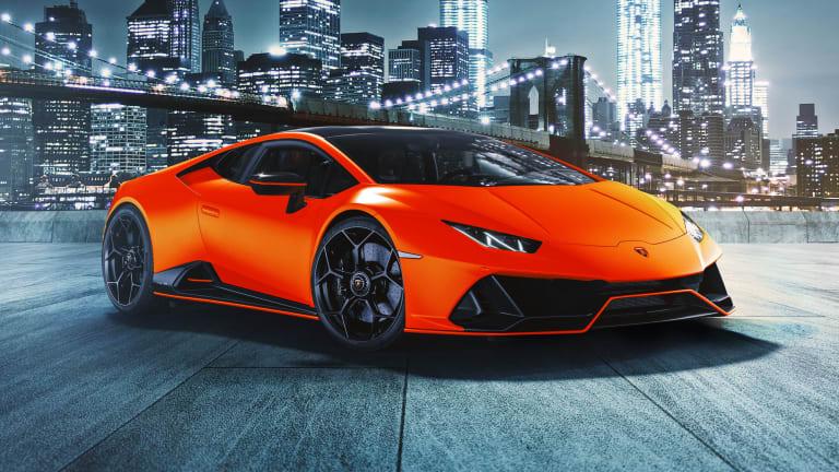 Lamborghini reveals the Huracán EVO Fluo Capsule