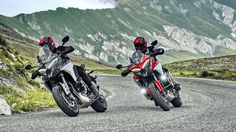 Ducati reveals the fourth-generation of its most versatile bike, the Multistrada V4