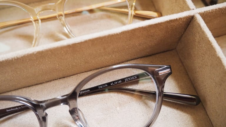 David Kind answers the needs for small, stylish frames with the Jensen