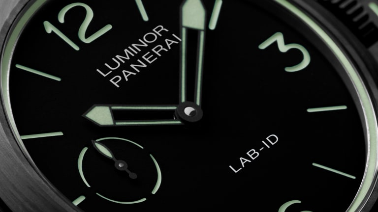 Panerai showcases its latest watch technologies in the new Luminor LAB-ID Carbotech
