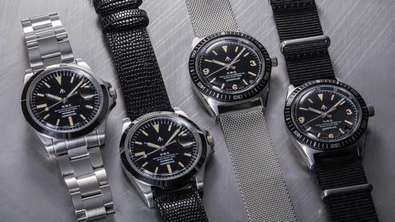 Naval Watch Company launches a collection of military watches in collaboration with Lowercase