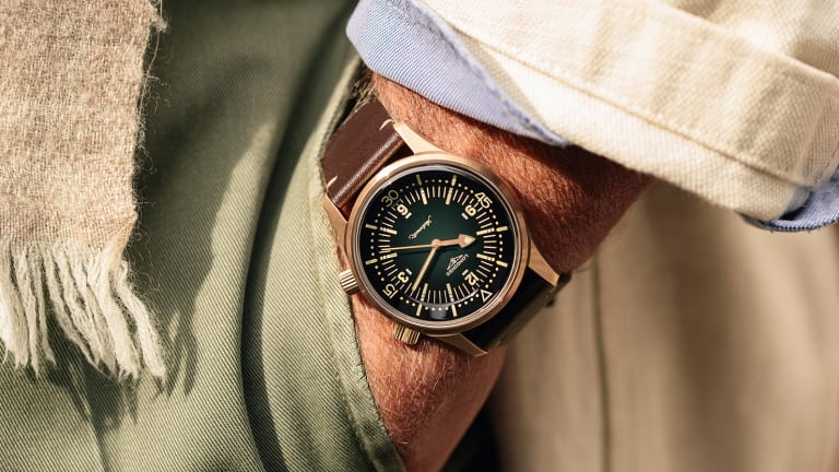 Longines releases the Legend Diver in bronze
