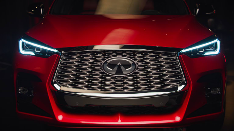 Infiniti reveals its first-ever crossover coupe, the QX55
