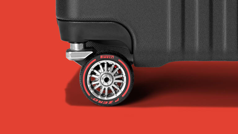 Pirelli engineered a special set of tires for a new limited-edition Montblanc suitcase