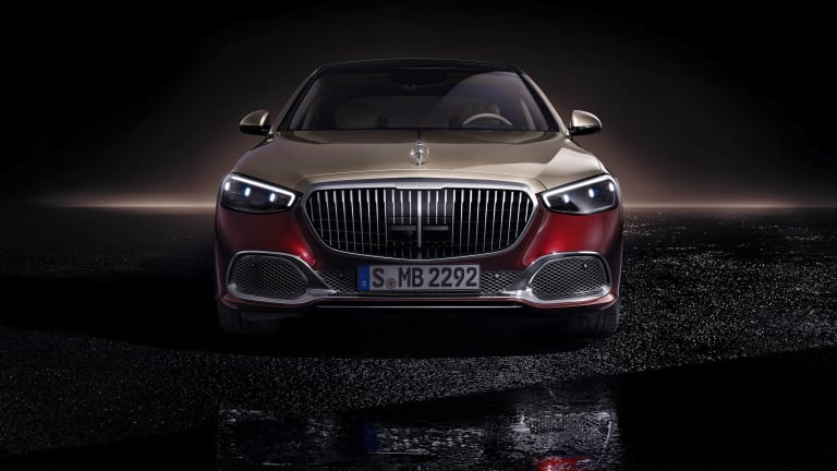 Mercedes unveils the 2022 Mercedes-Maybach S-Class