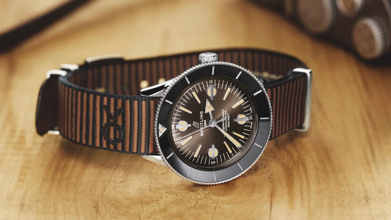 Outerknown and Breitling go retro with the Superocean Heritage '57