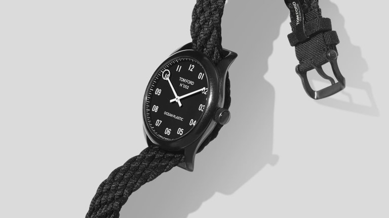 Tom Ford releases the first luxury watch made out of ocean plastic