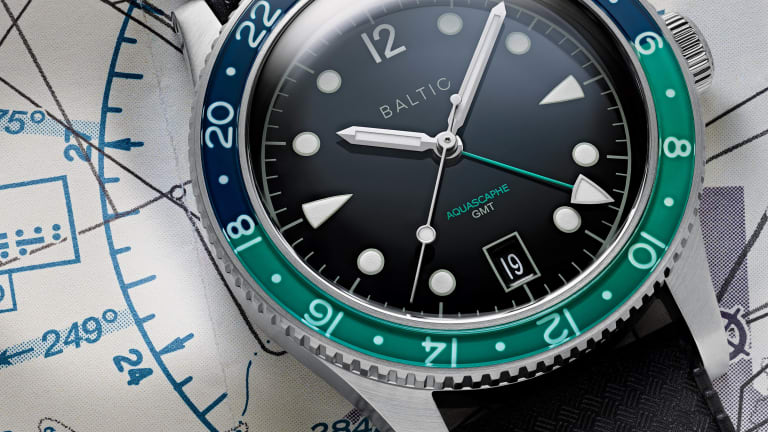 Baltic unveils the Aquascaphe GMT