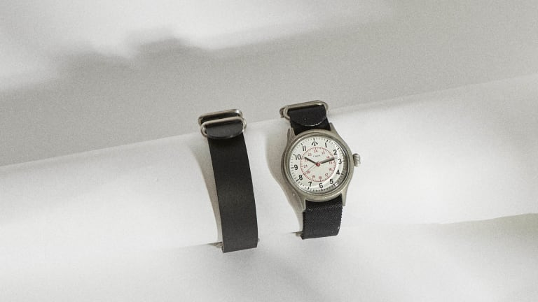 Nigel Cabourn and Timex launch the Naval Officers Watch