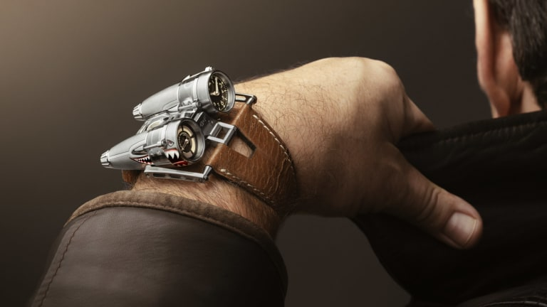 MB&F creates a piece unique inspired by the Curtiss P-40