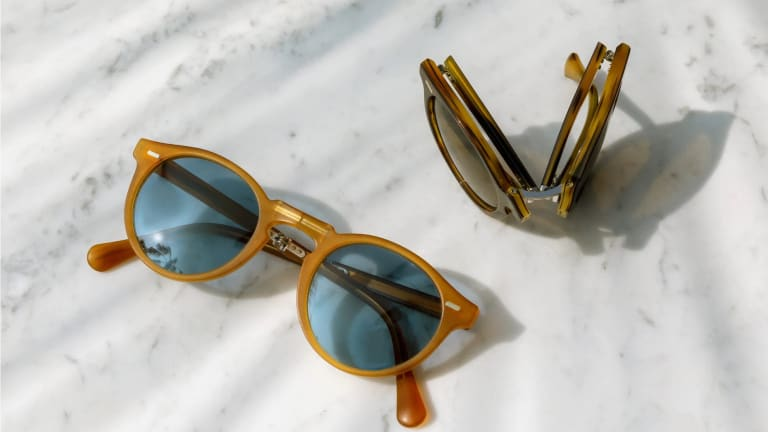 Oliver Peoples launches a folding version of the Gregory Peck