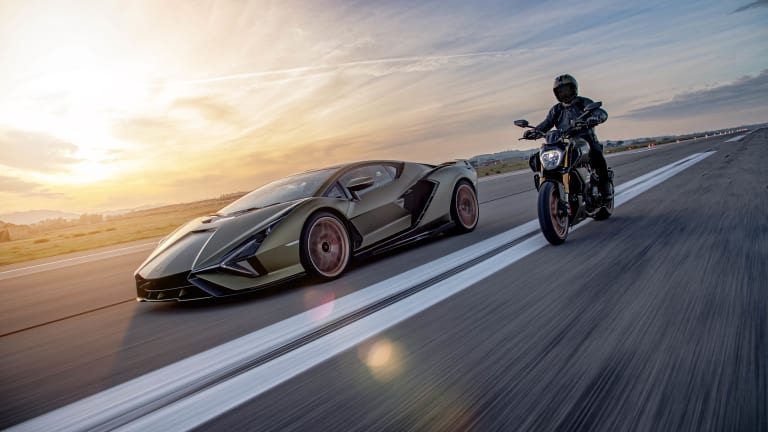 Ducati builds a special edition Diavel in collaboration with Lamborghini