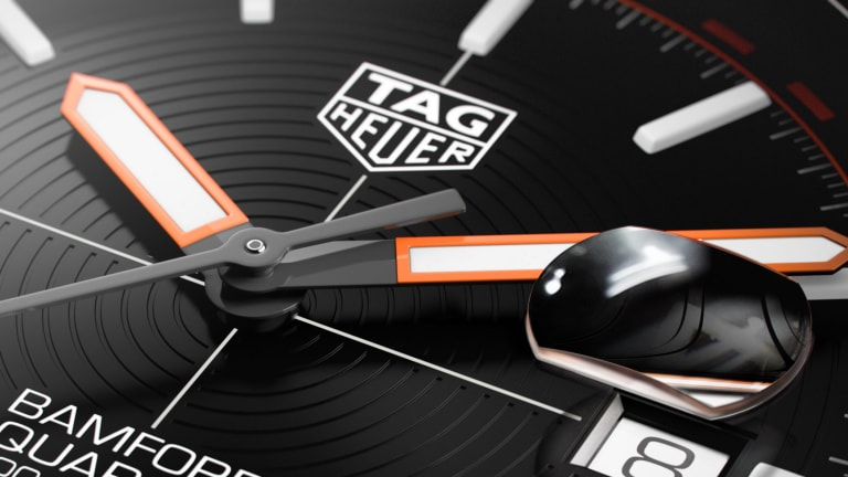 Tag Heuer and Bamford Watch Department release a new version of the Aquaracer in titanium