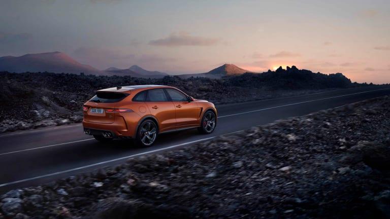 Jaguar unveils the faster, more luxurious 2021 F-PACE SVR