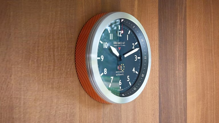 Bremont turns its MB model into a striking wall clock