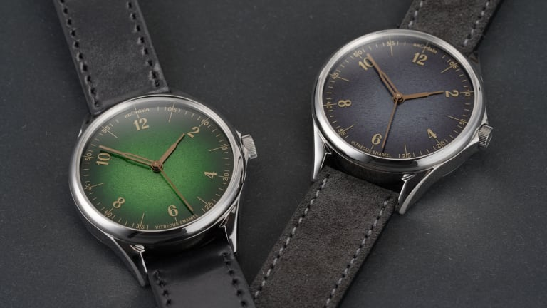 anOrdain releases a new collection of Fumé dials for the Model 1
