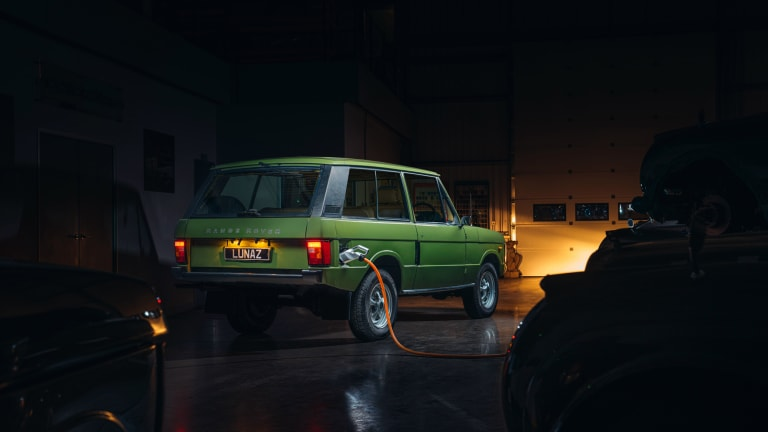 Lunaz is adding the Range Rover to its lineup of electrified classic cars