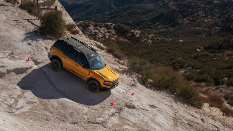 Hitting the trail in the new Bronco Sport
