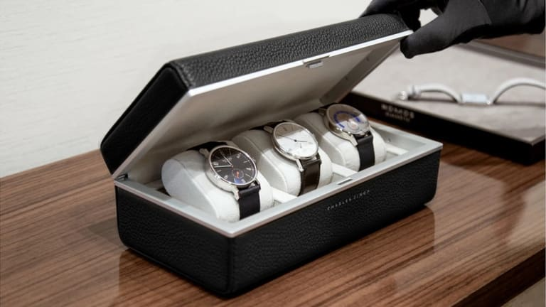 Charles Simon releases a travel version of their luxuriously minimal watch case
