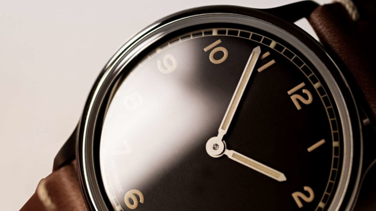 Archimede introduces a new watch for vintage-loving minimalists