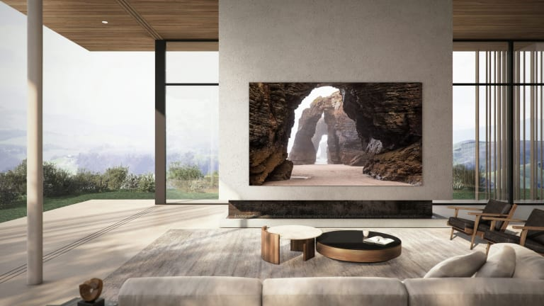 "Samsung announces the production of a 110"" MicroLED TV"