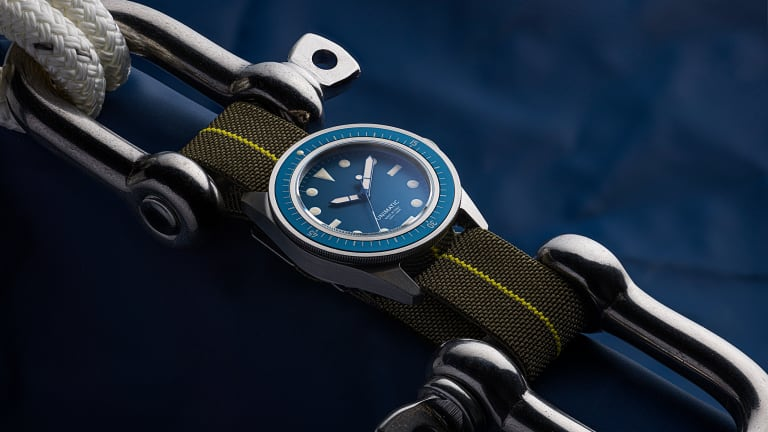 UNIMATIC and Massena LAB release a French Navy-inspired dive watch