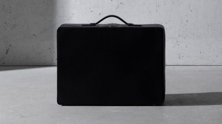 TSATSAS enlisted the help of architect Sir David Chipperfield for its new suitcase