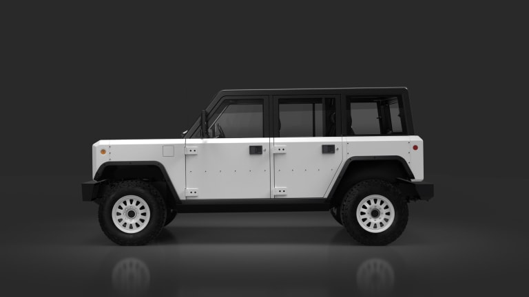 Bollinger previews the production-ready design of its all-electric B1 SUV